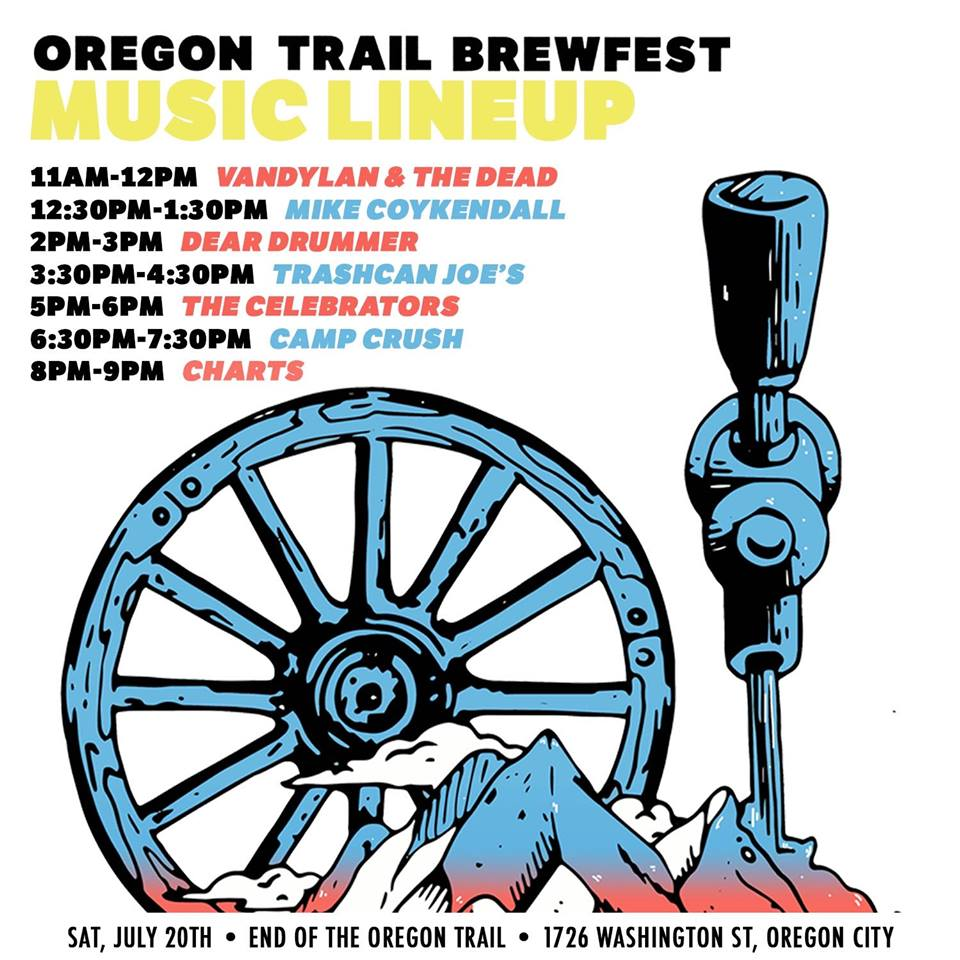 Dear Drummer Show Poster - Oregon Trail Brewfest